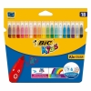 Blister 18 Rotuladores Bic Kid Couleur