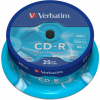 CD-R Verbatim Extra Protection Tarrina 25Uds