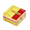 Notas Adhesivas POST-IT 3M Cubo 400 Hojas 75 X 75mm Brillantes