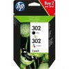 Pack Tinta HP 302 Negro + 302 Color