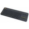 Teclado Logitech Wireless Touch Keyboard K400 Plus Negro