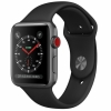 Watch Apple Series 3 Gps Cellular 38mm Caja Aluminio Gris Espacial con Correa Deportiva Negra